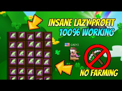 Download INSANE LAZY PROFIT WITH FISHING! [NO FARMING] 100% WORKING - GROWTOPIA PROFIT 2021 | GRZYZ GT