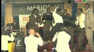 Akon, Drogba and Dioufy on Senegalese TV pt. 1