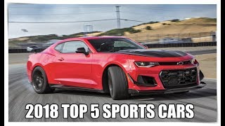 2018-2019 TOP 5 SPORTS CARS YOU SHOULD CONSIDER ON BUYING