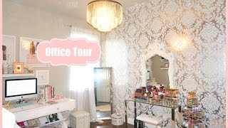 Makeup Room Office Tour - My Filming Room Tour 2015 - MissLizHeart
