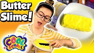 How to Make Butter Slime! DIY Butter Slime - Easy Slime Recipe | Arts and Crafts with Crafty Carol