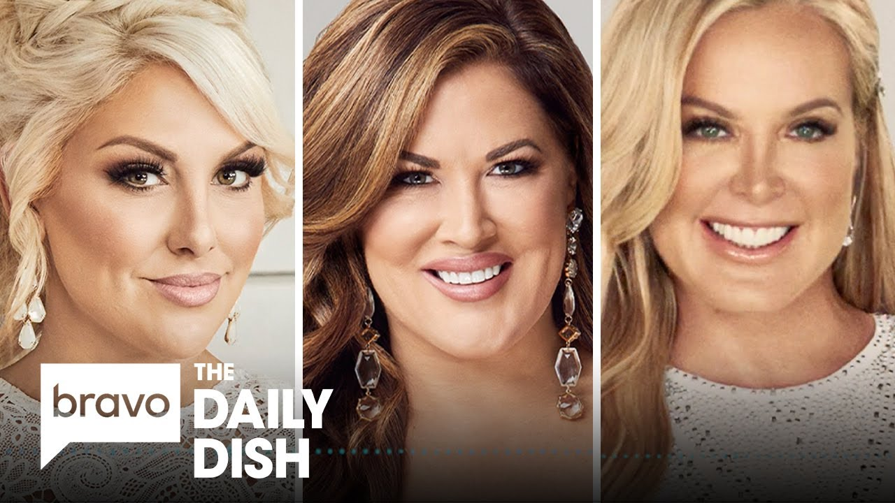 Gina Kirschenheiter, Emily Simpson and Elizabeth Lyn Vargas From RHOC | The Daily Dish