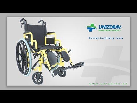 Detský invalidný vozík - VIDEOMANUÁL