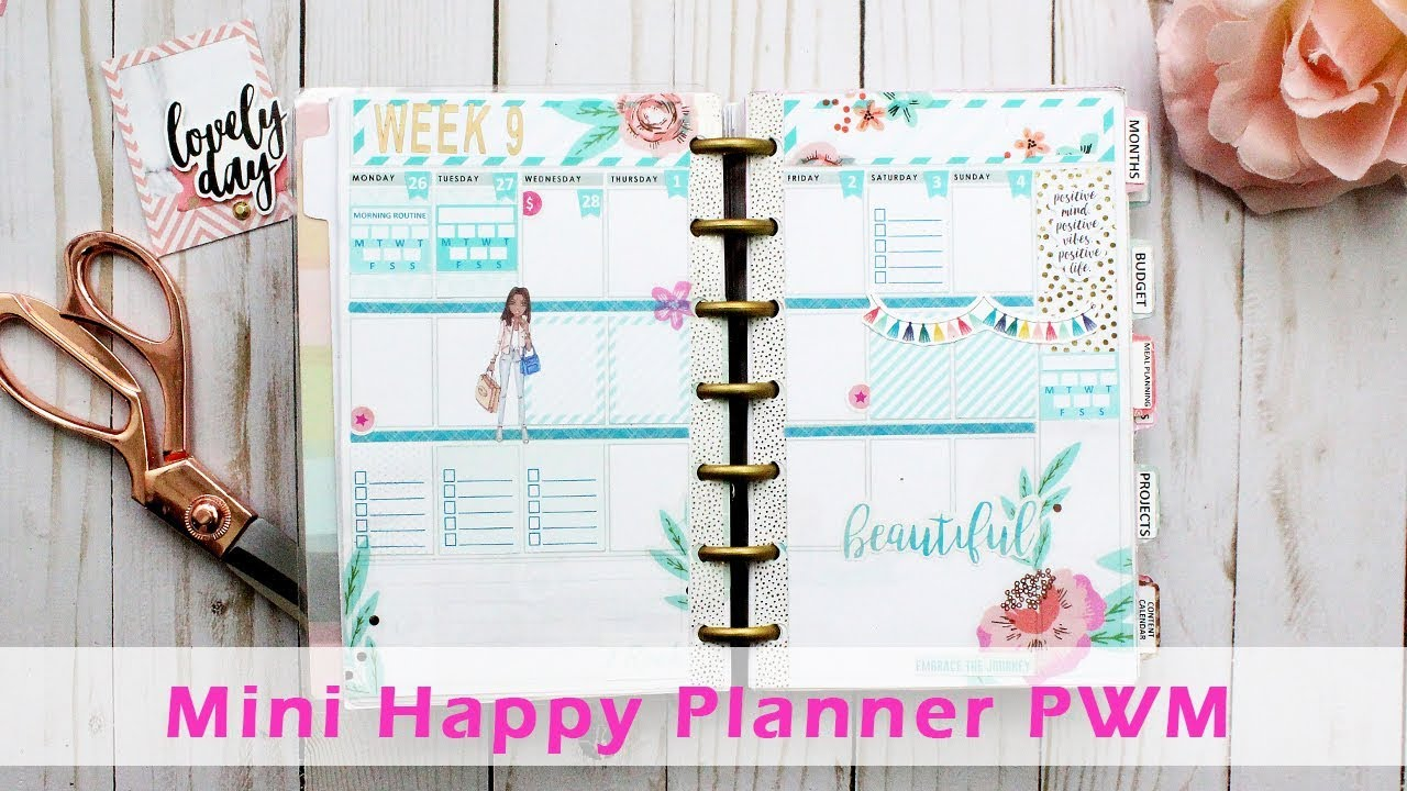 image about Free Happy Planner Inserts referred to as Program With Me Mini Content Planner #2 Cost-free Planner Incorporate