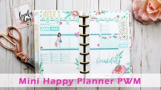 Plan With Me | Mini Happy Planner #2 |FREE Planner Insert