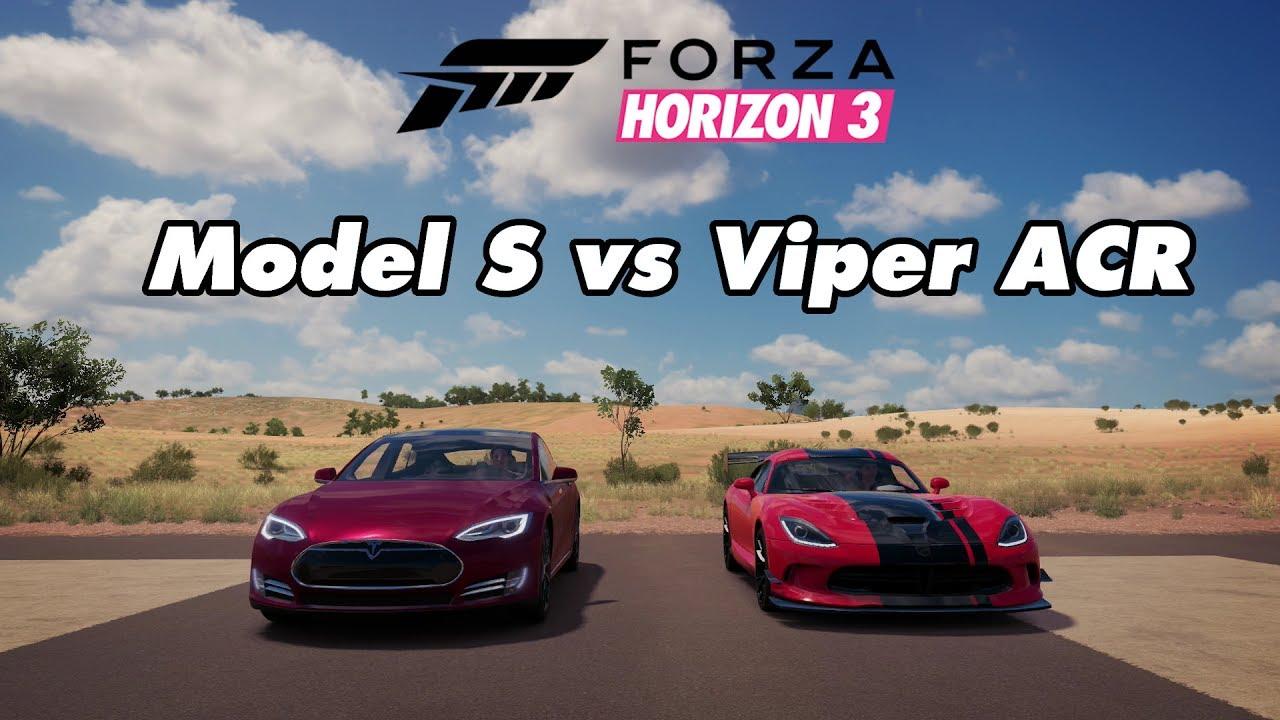Tesla vs viper