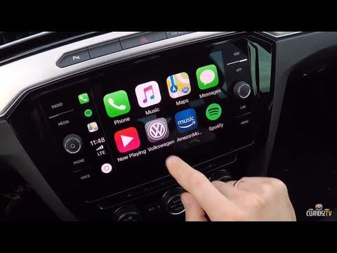 APPLE CarPlay VW PASSAT 2018 QUICK WALKTHROUGH