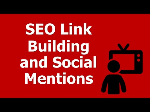 SEO MOOC: Class #4: Understanding SEO Link Building and Social Mentions