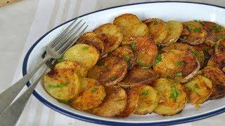 PATATAS  AL HORNO con ajo y pimentón ¡Deliciosas y facilisimas patatas de guarnición!