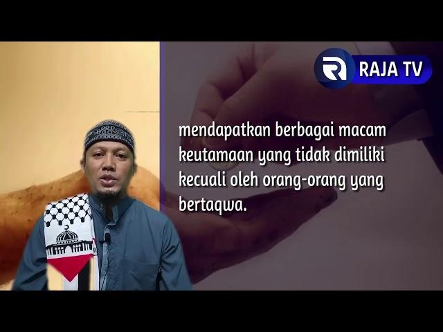Mengukur Ketakwaan Seorang Muslim - Ust Dikdik