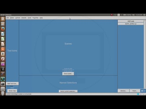 How to install UCSF Chimera in Linux OS tutorial