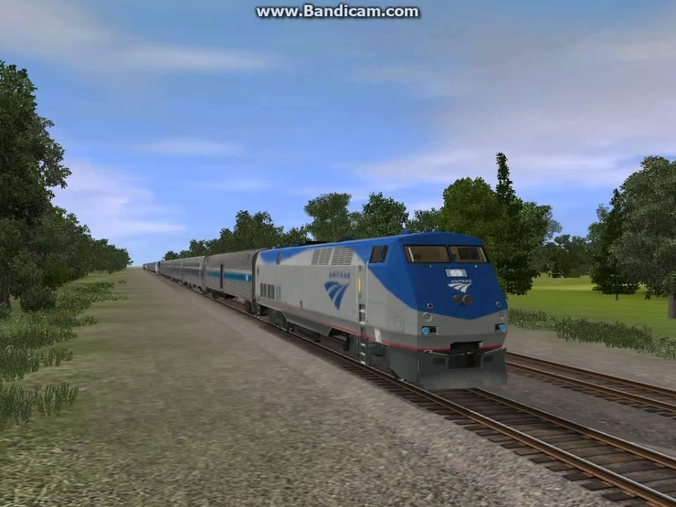 Amtrak P42DC K5LA horn pack for Trainz