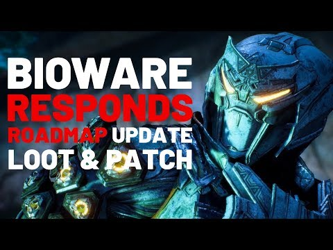 ANTHEM UPDATE   Devs Response, Roadmap Future, Loot, and upcoming Patch!