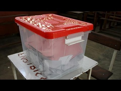 Sao Tome and Principe votes in presidential election