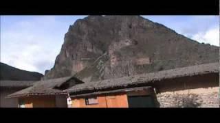 15,000 Year Old Temple At Ollantaytambo Peru