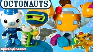 OCTONAUTS DISNEY JUNIOR Rescue Paw Patrol, Lion Guard + Learn Colors & Animals and Paw Patrol Toys