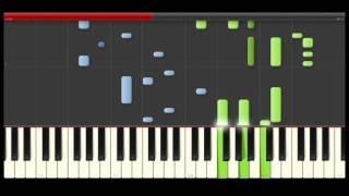 Lambada Kaoma piano midi tutorial sheet partitura cover