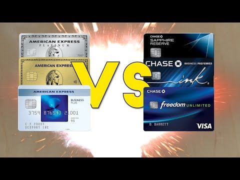 Amex Trifecta VS Chase Trifecta: Best Credit Card Combination??