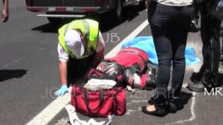ACCIDENTE DUCATI, MEXICO CUERNAVACA. JORGE BECERRIL