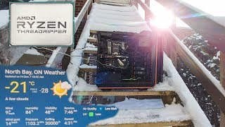 16 cores @ -21c OUTSIDE = 4.4 GHZ?!?