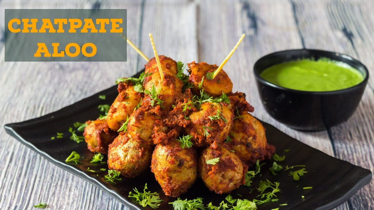 Chatpate Aloo Recipe Indian Microwave