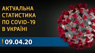 Коронавирус в Украине: статистика по COVID-19 на 9 апреля | Вікна-Новини