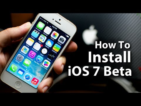 How To Install iOS 7 Beta On Your iPhone 5/4S/4 & iPod ...