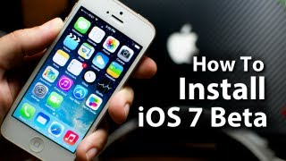 how to install ios 7 beta on your iphone 5 4s 4 ipod touch 5g