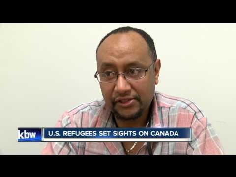 U.S. Refugees set sights on Canada