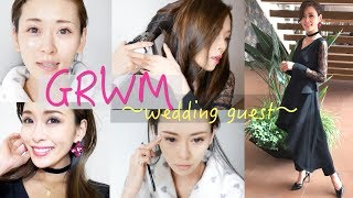 #GetReadyWithMe#友人の結婚式へ#急げ私#花粉辛い#wedding guest thumbnail