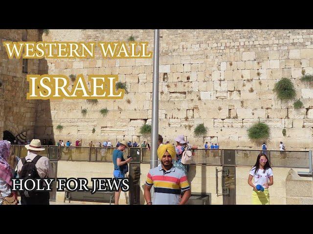 JERUSALEM: Western wall | ISRAEL🇮🇱 | Place for JEWS | Jewish Culture