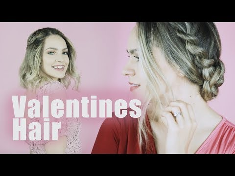 Valentines Day Hairstyles for Long and Short Hair!