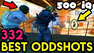 500 IQ POSITION ! *EPIC WIN* - CS:GO BEST ODDSHOTS #332