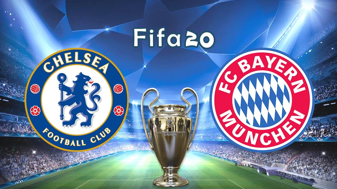 Fifa 20 | Chelsea vs Bayern Munchen | Round Of 16 UCL - Full Match + Gameplay Leg 1 19/20