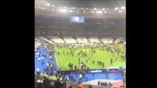 Paris bomb blast attacks shootings stadion hostages terror