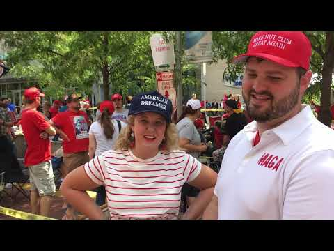 Trump Supporters Answer History Questions at Evansville Rally