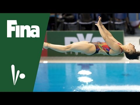 FINA Diving World Series, Kazan (RUS) - Shi Tingmao (CHN) interview