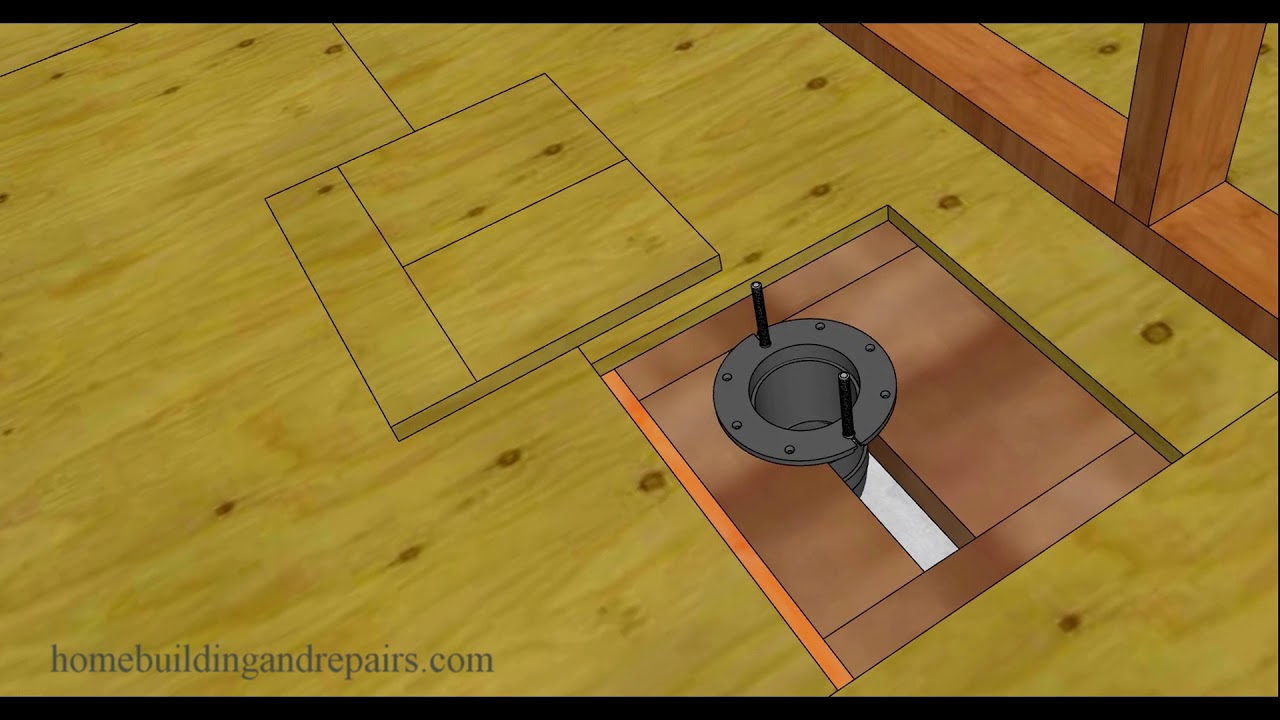 How To Replace Damaged Subflooring Under Toilet U2013 Home Repairs