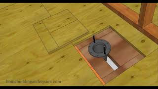 How To Replace Damaged Subflooring Under Toilet – Home Repairs