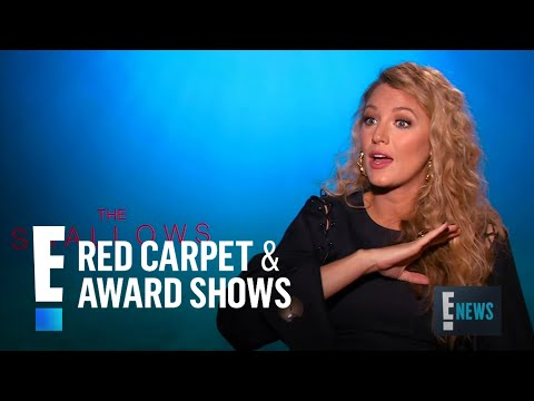 "Blake Lively Talks Getting In Shape for ""The Shallows"" 