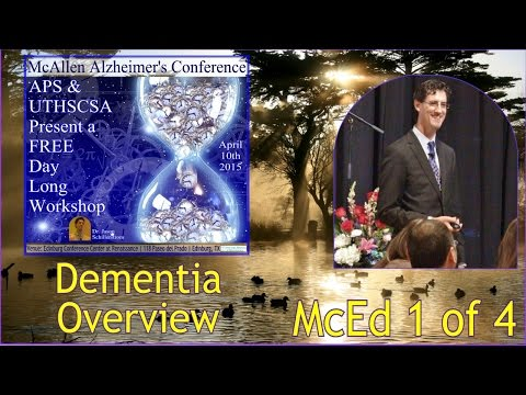 SA STGEC: AD APS Talk | McEd--Dementia Disorders (2015)