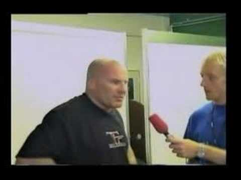 Interview Ian Freeman Fight Night IV 2003