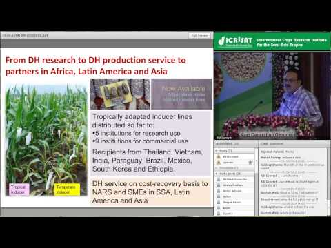 Stress resilient and nutritionally enriched maize for the tropics -