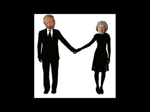 """Donald Trump & Theresa May - """"I Want to Hold Your Hand"""""""