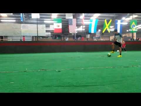Soccer Putting hard work