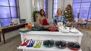 Rachael Ray 3.5-qt Cast Iron Round Braiser with Glass Lid on QVC