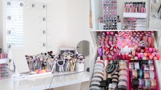 MAKEUP COLLECTION & STORAGE 2016 | BeautyyBird