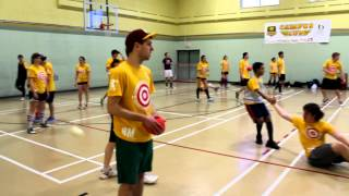 All Star Dodgeball Tournament - Mackenzie Alumni vs All Star 2012/13 - Double Doctor Game