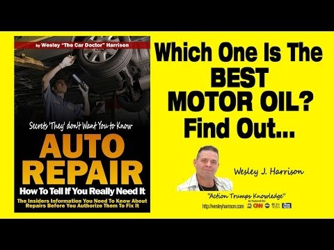 What Is |The BEST Motor Oil | Synthetic | Synthetic Blend | Brand | Review | Engine | Oil | Mileage
