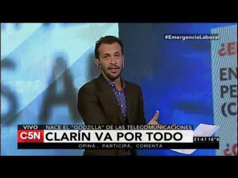 Clarín va por todo: fusión Cablevisión-Telecom (C5N)